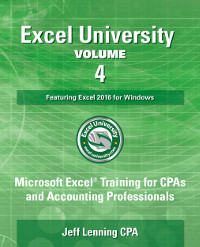 Excel University Volume 4 Book